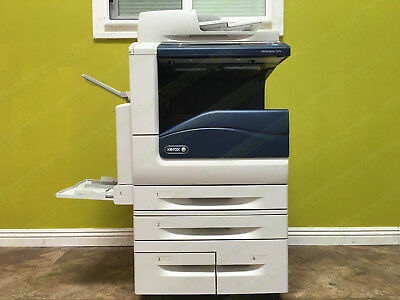 Xerox Workcentre 7970 70PPM Color Tabloid Printer Copier Scanner Network 300K