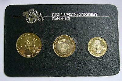 Bulgaria coin set 1980, World Cup Soccer Games in Spain 1982