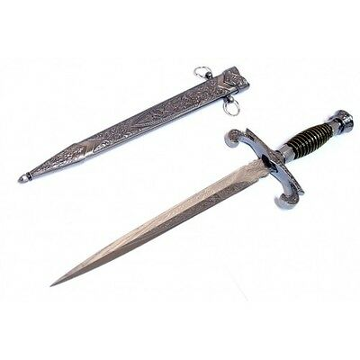 "15.5"" Roman Collectible Style Dagger with Sheath"