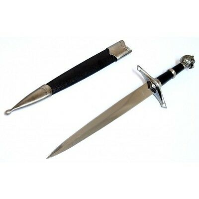 "15.5"" Collectible Style Stainless Steel Dagger with Sheath"