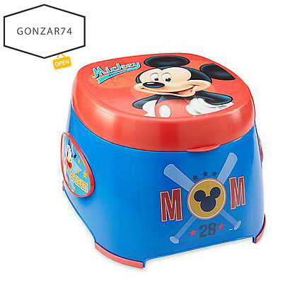 Toilet Trainer Chair Seat Toddler Potty Baby Disney Mickey Mouse