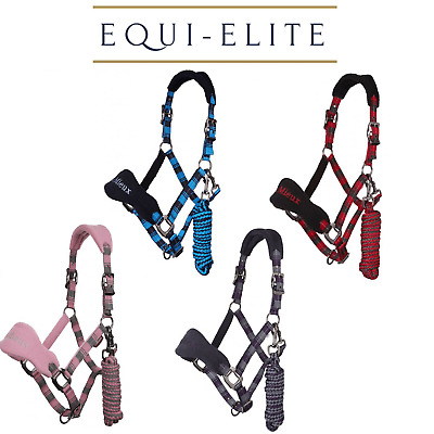 LeMieux Vogue Signature Fleece Headcollar & Leadrope Set