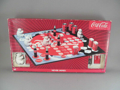 Rare Vintage Coca Cola Brand Never Mind Board Game