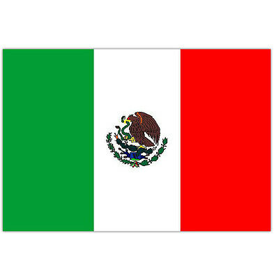 LARGE MEXICO FLAG MEXICO SPORTS OLYMPICS 5FT x 3FT MEXICAN FANS FLAG