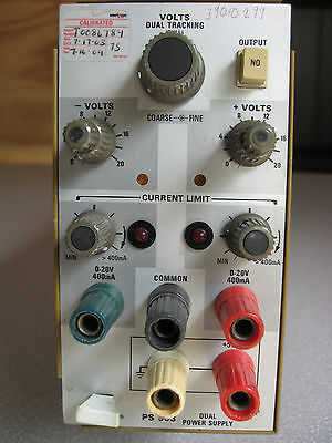 Tektronix PS503 PS 503 Dual Power Supply Plug-in