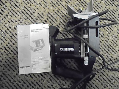 Porter Cable Double Insulated Plate Joiner Model # 555 USED