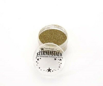 Super Gold * Sternenstaub Embossingpulver Powder * Embossing
