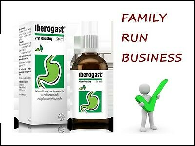 Iberogast SIZE (50ml) for Dyspepsia, Bloating, Stomache Pain and Heartburn