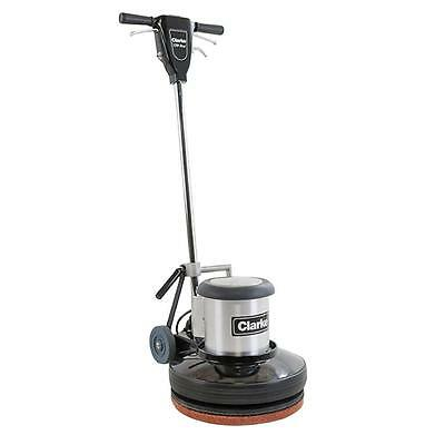 "17"" Floor Machine By Clarke, Model Cfp Pro 17, Comes With Pad Driver, Brand New"
