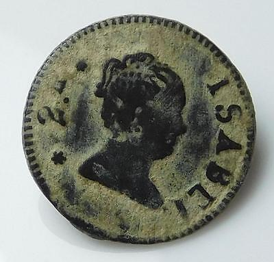 *HHC* Antique Spanish Button, Early 1800's (Inv #U623)