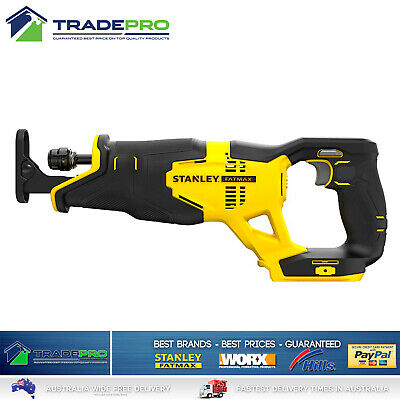 Stanley Fatmax® 18v Cordless Recipro Saw Genuine FMC675B-XE Tool Only