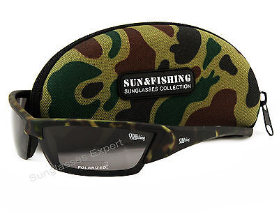 Pro Men' Camouflage Polarized Sunglasses for Hunting and Fishing