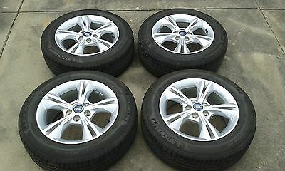 """Ford Focus 16"""" alloy wheels and tyres"""