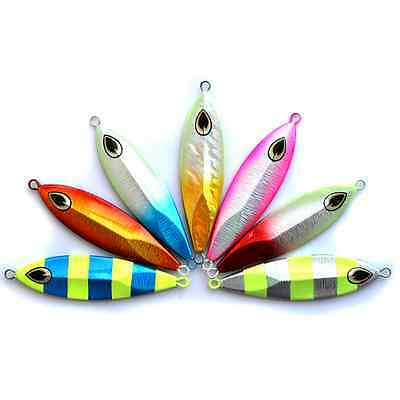 5x Micro Jigs Butterfly Metal Jig Fishing Lure 40g Bait Jigging Tuna Lures