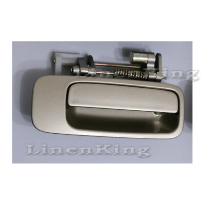 B459 For 97-01 Camry Rear Left Driver Side Outside Door Handle SILVER 1C8