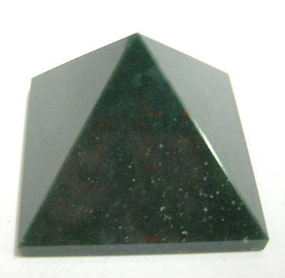 21 grams bloodstone feng shui bagua crystal healing pyramid gift home reiki