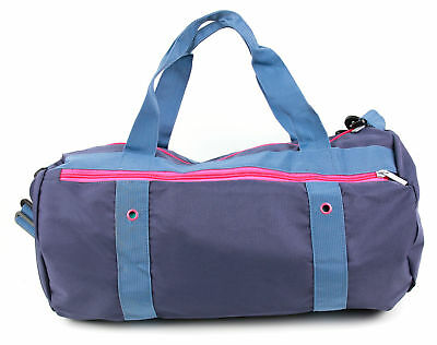 Gym Bag - With Adjustable Interior Dividers And Padded Shoulder Straps
