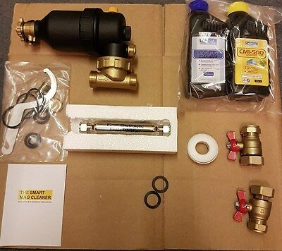 CalMag Magnetic Central Heating System Filter And Kit .