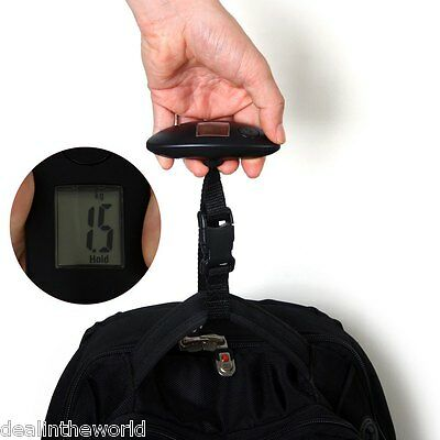 40kg Mini LCD Travel Electronic Scale Hand Carry Luggage Digital Weighing Device