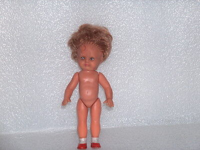 Cute Vintage Antique Ari D.p. 3204 Germany Rubber Doll, Marked