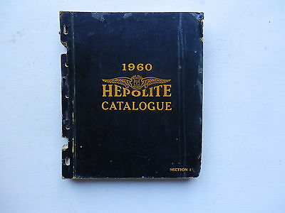 HEPOLITE 1960 pistons rings pins liners catalogue cars motorcycles commercials