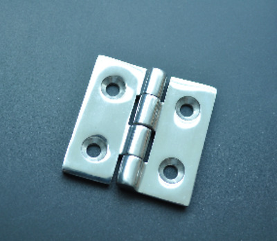(2pcs) AISI 316 Stainless Steel Marine Boat Cast Square Deck Hinge 2''x2''