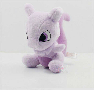 Pokemon Pocket Monster Mewtwo Peluche douce Farci Jouets