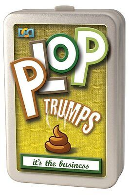 Cheatwell Games Plop Trumps - FREE DELIVERY