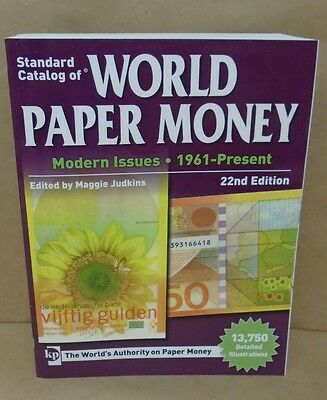 SALE Catalog of World Paper Money 22nd Vol. 3 Modern Issues 1961-Present 50% off