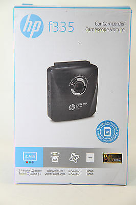"""HP Car Camcorder f335 1080p Dashcam with 2.4"""" LCD Screen"""