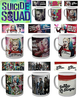Official SUICIDE SQUAD BOXED MUG SQUAD HARLEY QUINN DADDY'S LIL MONSTER JOKER