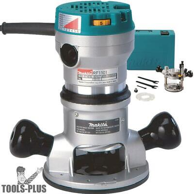 2-1/4 HP Two Base Router Kit Makita RF1101KIT2 New