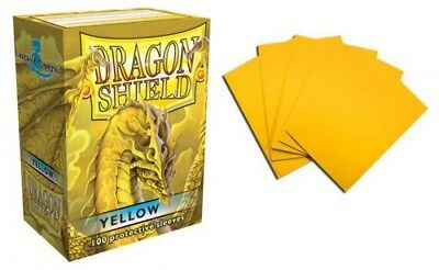Dragon Shield - Yellow 100 protective Sleeves Hüllen Standard Kartenhhüllen