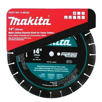 "14"" Metal Cutting Diamond Blade Makita A-96229 New"