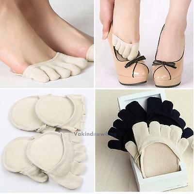 1 Pair Half Insoles Pads Cushion Metatarsal Sore Forefoot Support Foot Care NEW