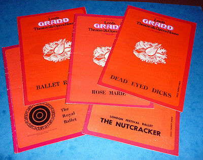 Theatre Programmes. Leeds Grand. Collectable. 1970s #2
