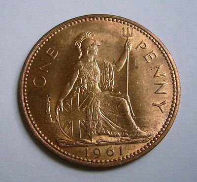 Great Britain 1 Penny 1961