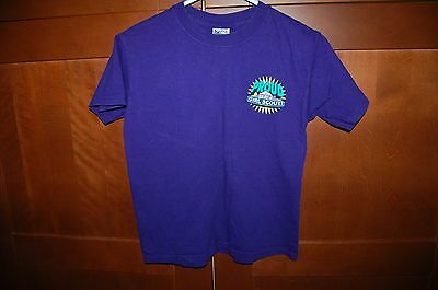 GIRL SCOUTS JUNIOR Shirt Purple Size M (10-12) Girl From Early 2000's PROUD