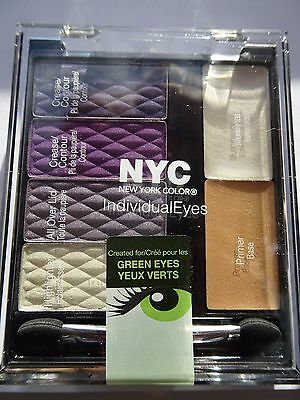 NYC Individual Eyes Eyeshadow Palette SOHO GRAND 947 6pc with Primer Illuminator