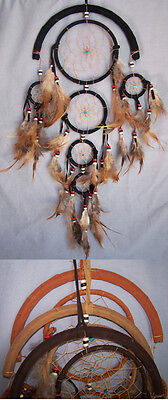 Handmade Tribal Dream Catchers Wall  Decorations 6 Pc Lot  ( ENpDc203-6)
