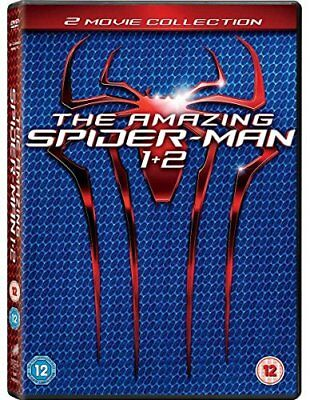 The Amazing Spider-Man 1-2  with Emma Stone New (DVD  2012)