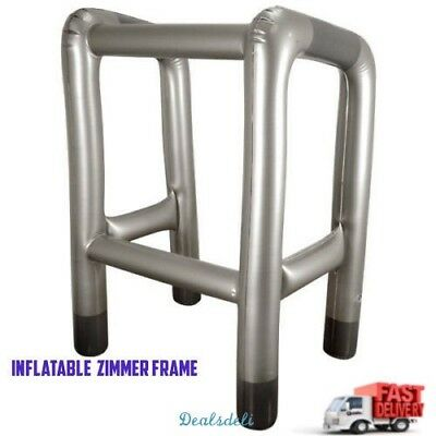 Inflatable Zimmer Frame Blow Up Novelty Party Joke Gift Present Hen Stag Do