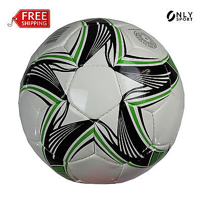 Soccer ball Football size 5 white black green match training all weather