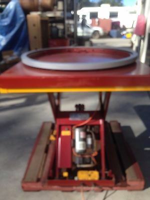 Pallet Jack for shrink wrapping