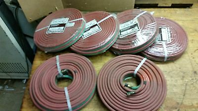 "ONE Anchor Brand Twin Welding Hose Grade R 50' ¼"" LB504 new oxy acetylene"