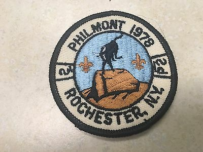 1978 Rochester New York Philmont Contingent Patch