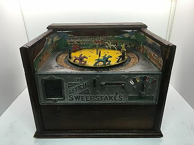 Official Sweepstakes ORIGINAL Antique Trade Stimulator