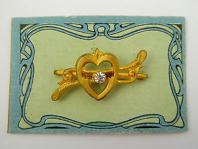 Original 1920s Shop Stock NOS  Art Nouveau  Brooch New Old  Stock  LAYBY  AVA
