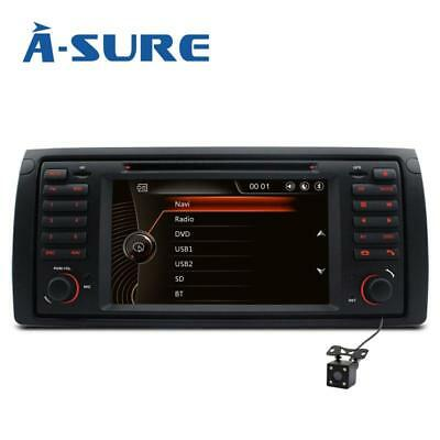DVD GPS Autoradio Für BMW X5 E39 E53 E38 5er BT 3G Navigation 2-Zone USB SD RDS