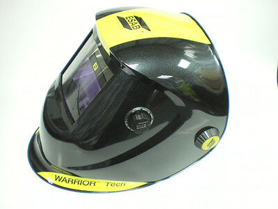 ESAB Warrior Tech Welding Helmet Black + Two FREE Outer Lens + FREE P&P